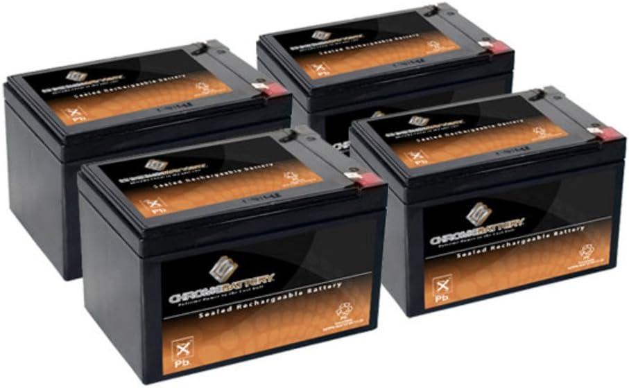 12V 14AH SLA Battery Replaces cb12-12 np12-12 bp12-12 es12-12 ub12120-4PK 61jJP2Ef0gLSL1000_