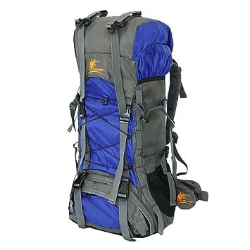 Litthing Mochila de Trekking Impermeable 60L Montañismo al Aire Libre Mochila Trekking Bolsas táctica para Damas de Gran Capacidad para Senderismo, ...