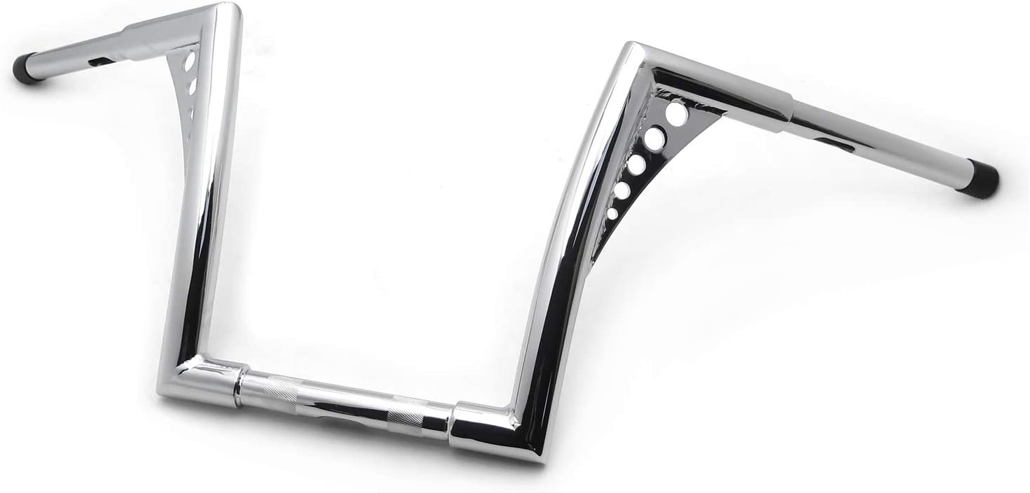 HTTMT P//N: US-TGHD-HB002-II Ape Hangers Bars Fat 1-1//4 14 Rise Handlebars Compatible with Harley Softail Sportster XL