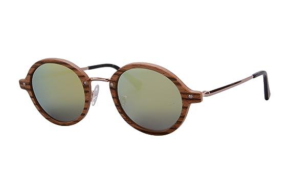 09c8fcef2ca Zebra Polarized Sunglasses Wood Eyewear UV400 Protective Wooden Sunglasses -TY3024