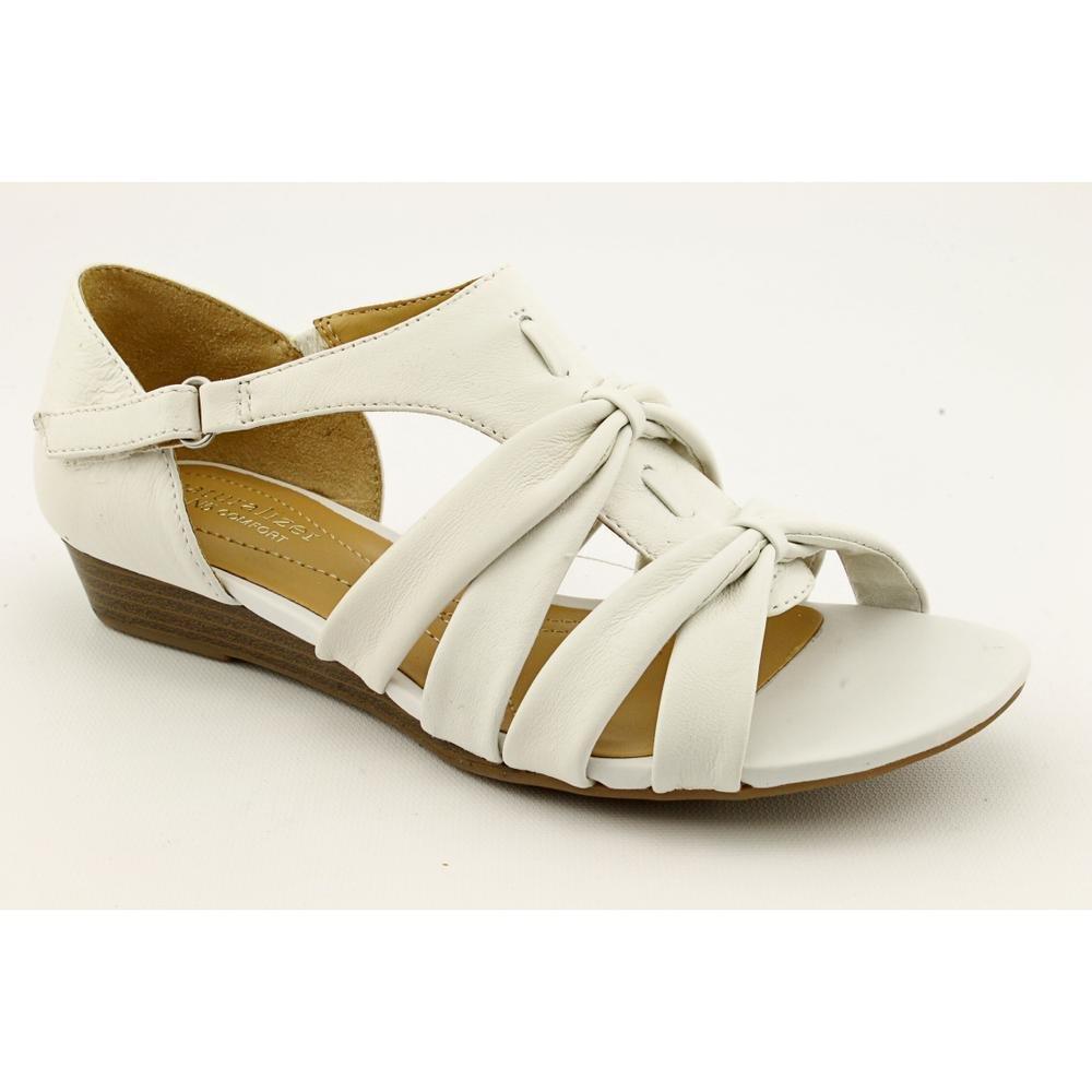Naturalizer Women's Joslin Strappy Sandal B00318HLB4 11 B(M) US|White