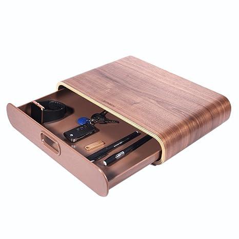e1ae308ece75d Samdi - Soporte de monitor universal de madera para pantalla de ordenador