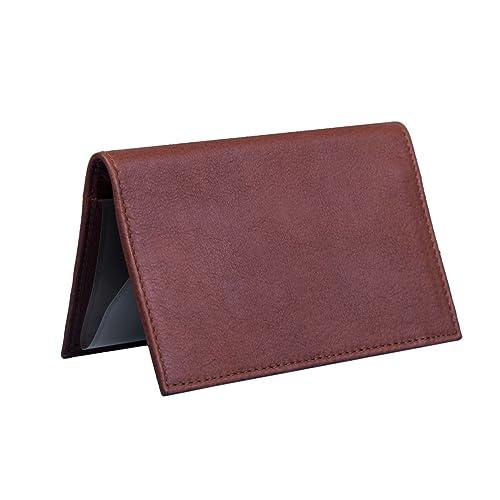 leather checkbook register cover amazon com