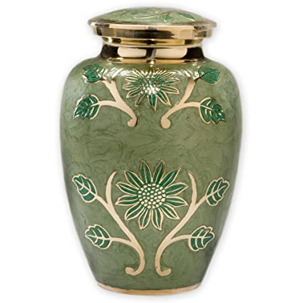 Amazon Beautiful Life Urns Green Garden Adult Cremation Urn