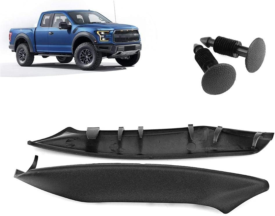 Ejoyous Windshield Wiper Cowls Retainers,Black Matte Wiper Cowl for Ford F150 2004-2008 and also for Lincoln Mark LT 2006-2008