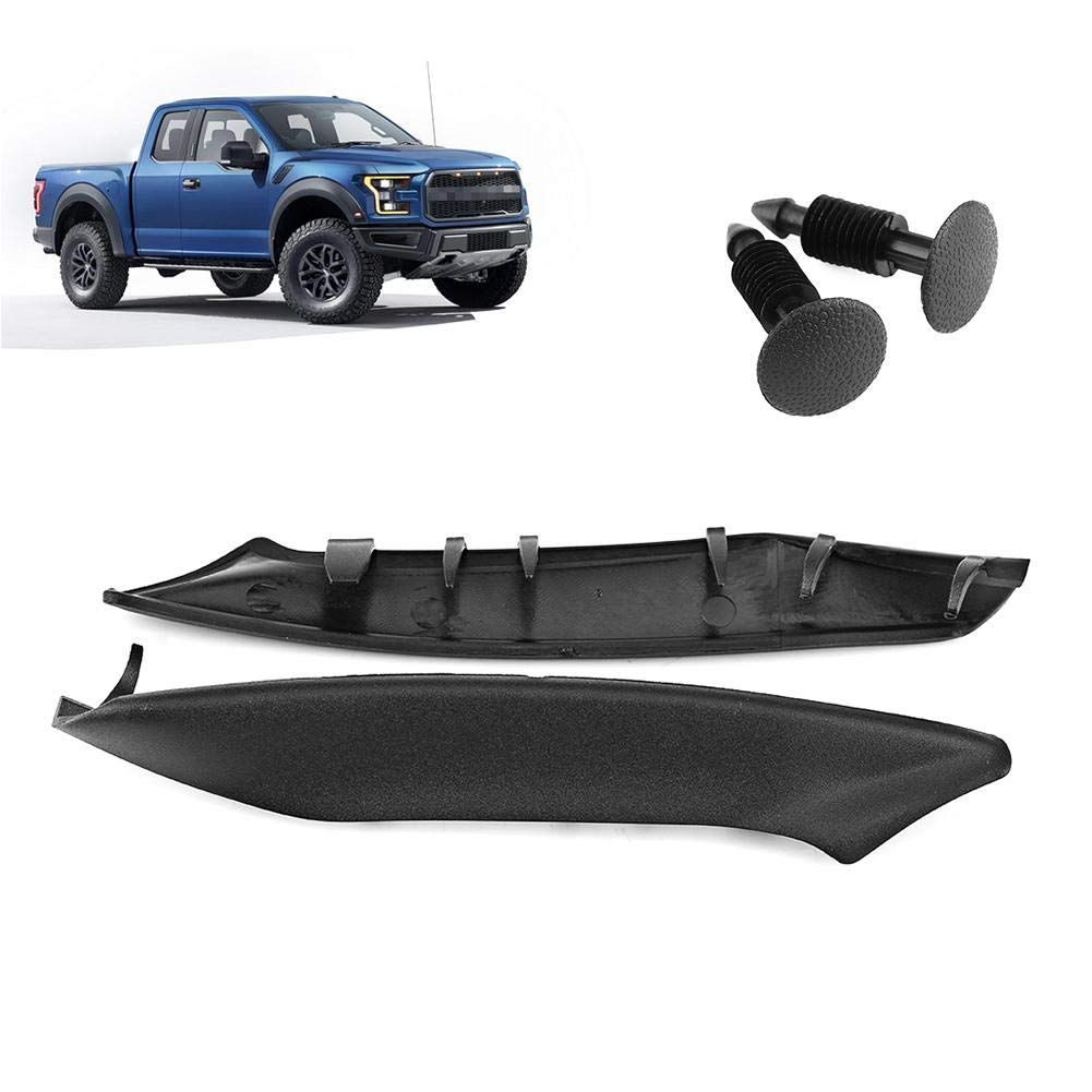 Akozon Windshield Wiper Cowl Black Matte for Ford F150 2004-2008 and also for Lincoln Mark LT 2006-2008