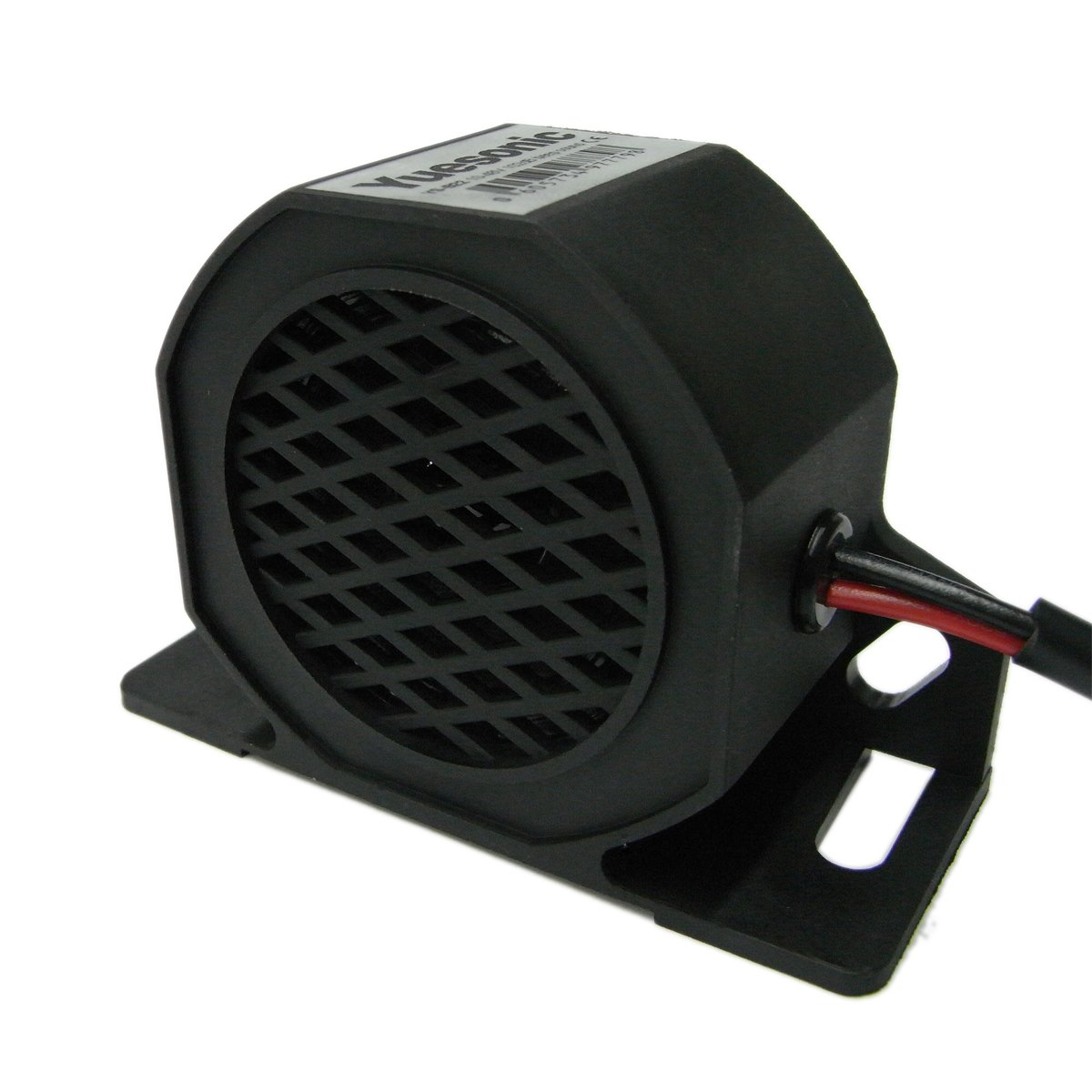 Yuesonic 102dB White Noise Backup Alarm Rü ckfahrwarner mit fü r 12/24 V Fahrzeuge