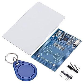 HALJIA NFC RC522 RF RFID IC sensor de tarjeta RFID Reader ...