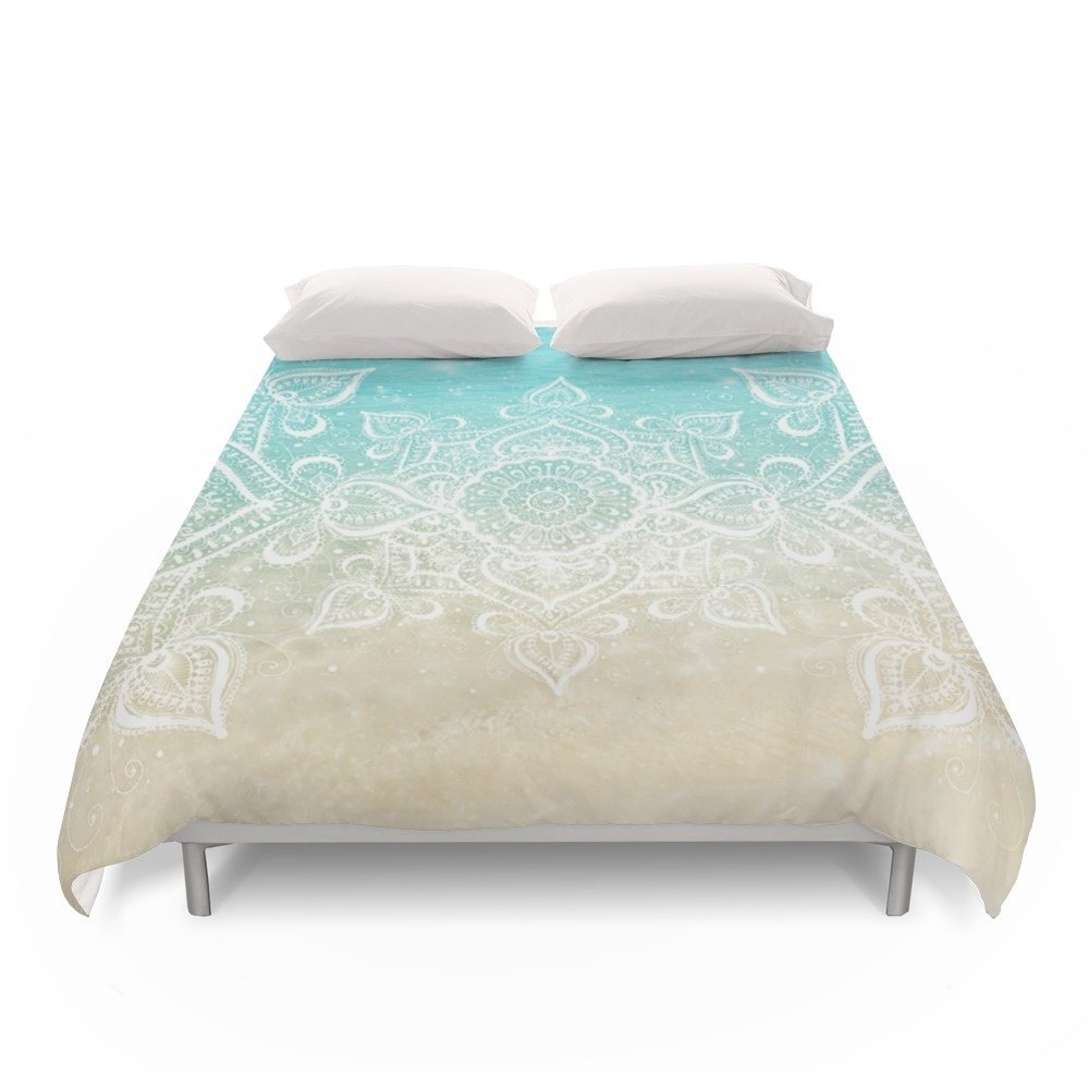 "Society6 Beach Mandala Duvet Covers King: 104"" x 88"""