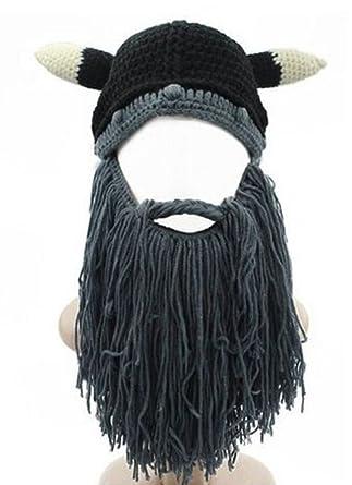 tricoter un bonnet viking
