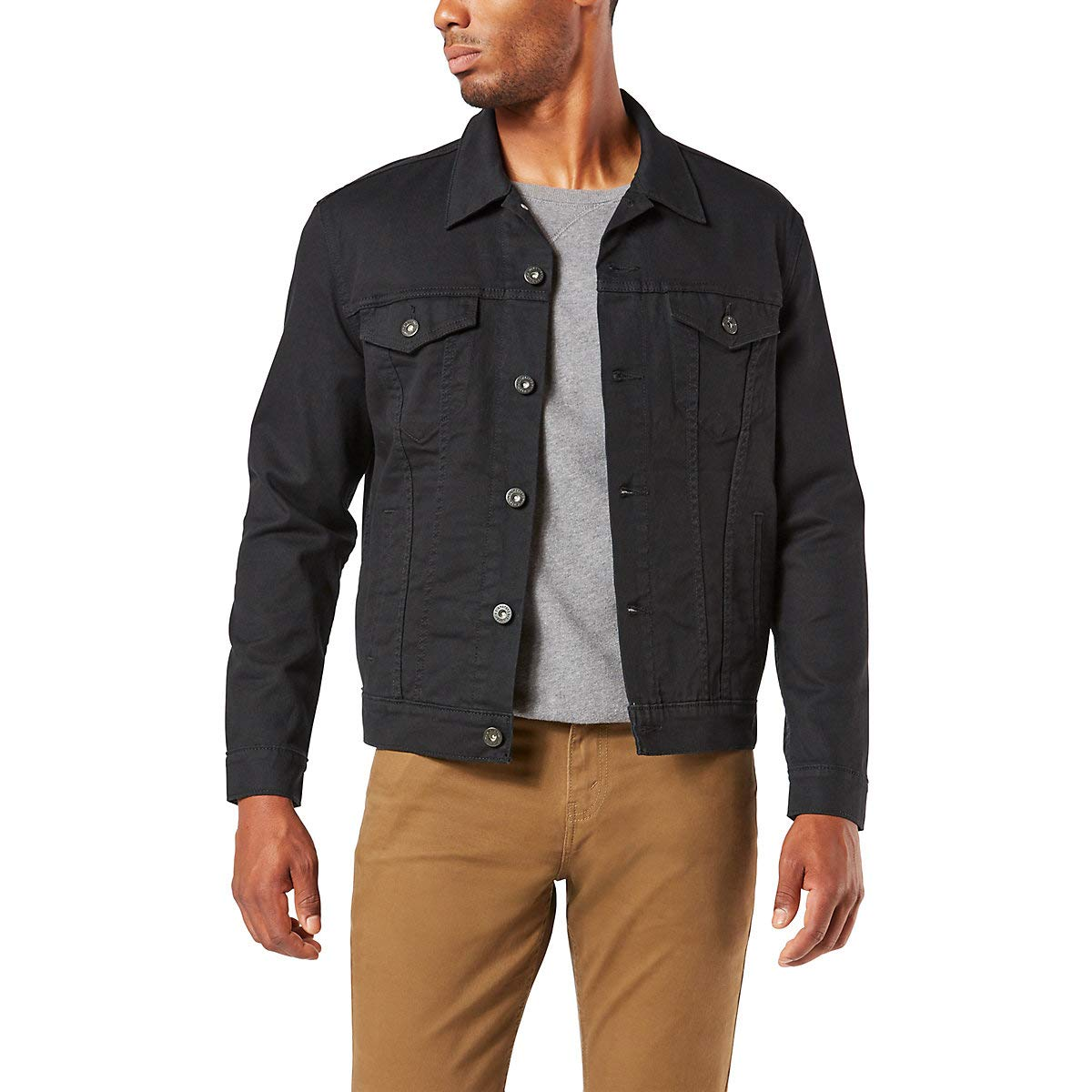 Signature by Levi Strauss & Co Men's Signature Trucker Jacket, Gothic, XX-Large by Signature by Levi Strauss & Co. Gold Label