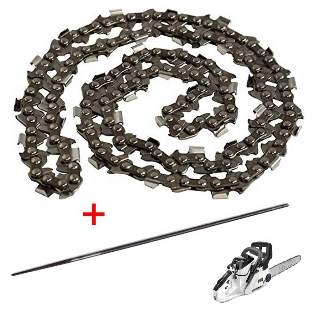 Parpyon® Kit cadena Alpina para motosierra C41 – 57 dientes paso 3/8