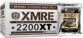 product image for XMRE 2200XT 24hr Ration, Shelf Stable, Fully Cooked Ready to Eat Meal Kit - No Refrigeration - Great for Camping, Backpacking or Disaster Preparedness Case includes 6 Full Meals