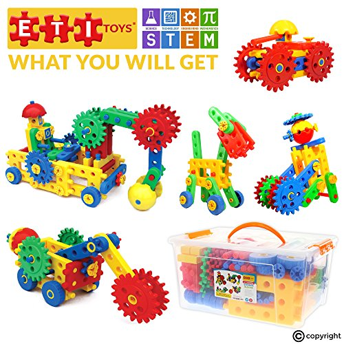 8 Year Old Construction Toys : Piece educational engineering building set for
