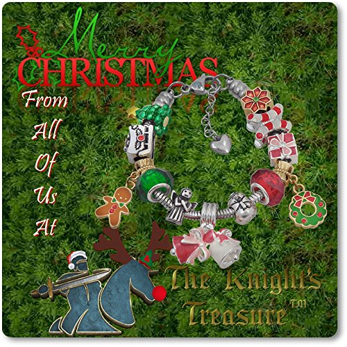 European Charm Bracelet Charms and Beads For Women and Girls Jewelry, Christmas Holiday by Timeline Treasures (Image #5)