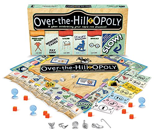 (Over The Hill-Opoly Board Game)
