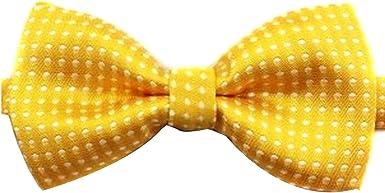 Corbata de lazo formal ajustable del algodón para los niños con el ...