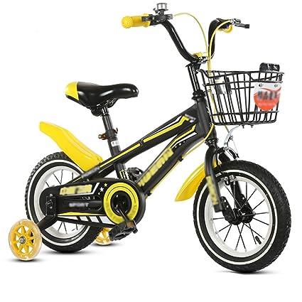 QQB &Carro Plegable Pedal de Bicicleta para niños Bicicleta Carro de bebé Chica, Niño,