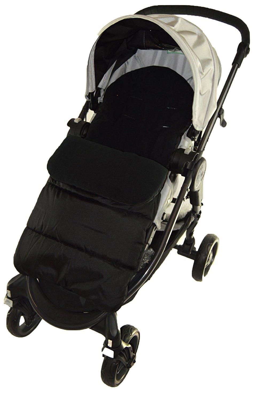 Saco/Cosy Toes Compatible con Jane Rider Pushchair Black ...