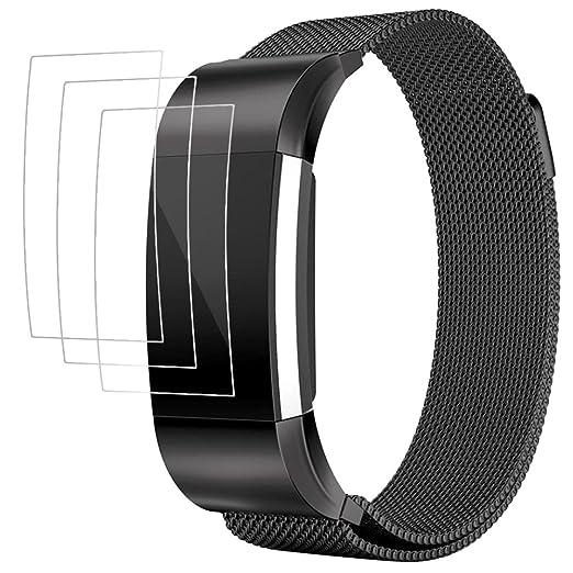 14 opinioni per Cinturino per Fitbit Charge 2 con Pellicola Protettiva, AFUNTA Band Braccialetto