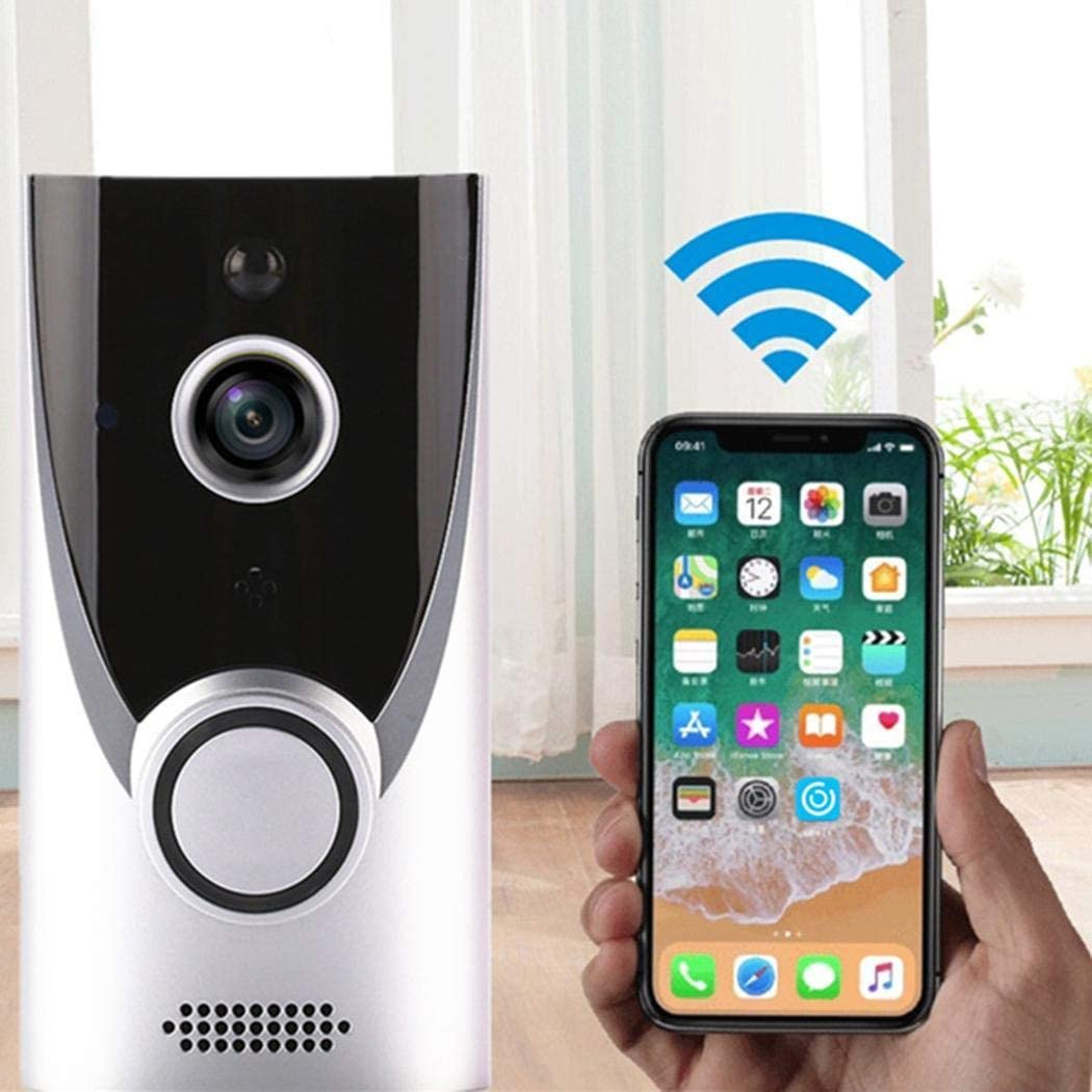 ONERIOME M16 Home Wireless Video Doorbell,720P HD WiFi Smart Wireless Security Doorbell,Two-Way Talk,Night Vision,Infrared LED Security Camera