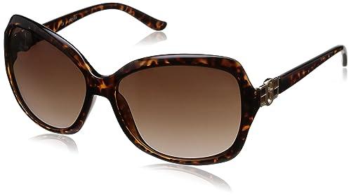 Guess - Gafas de sol Mariposa GU7130, GU7130_S57 Tortoise & Brown