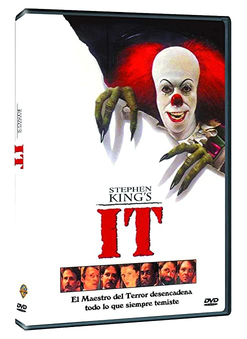 It (1990) [DVD]: Amazon.es: Harry Anderson, John Ritter, Tim Curry, Richard Thomas, Tim Reid, Dennis Christopher, Annette OToole, Richard Masur, Tommy Lee Wallace, Harry Anderson, John Ritter: Cine y Series TV