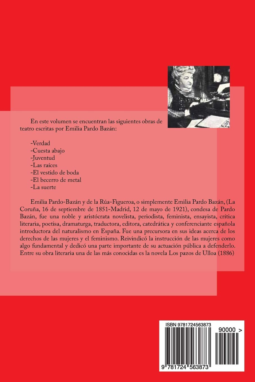 Teatro (Spanish Edition): Emilia Pardo Bazán: 9781724563873: Amazon.com: Books
