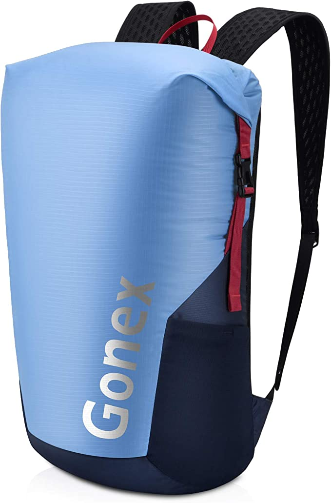 Gonex Ultra Lightweight Packable Backpack Hiking Daypack for Men and Women// Air