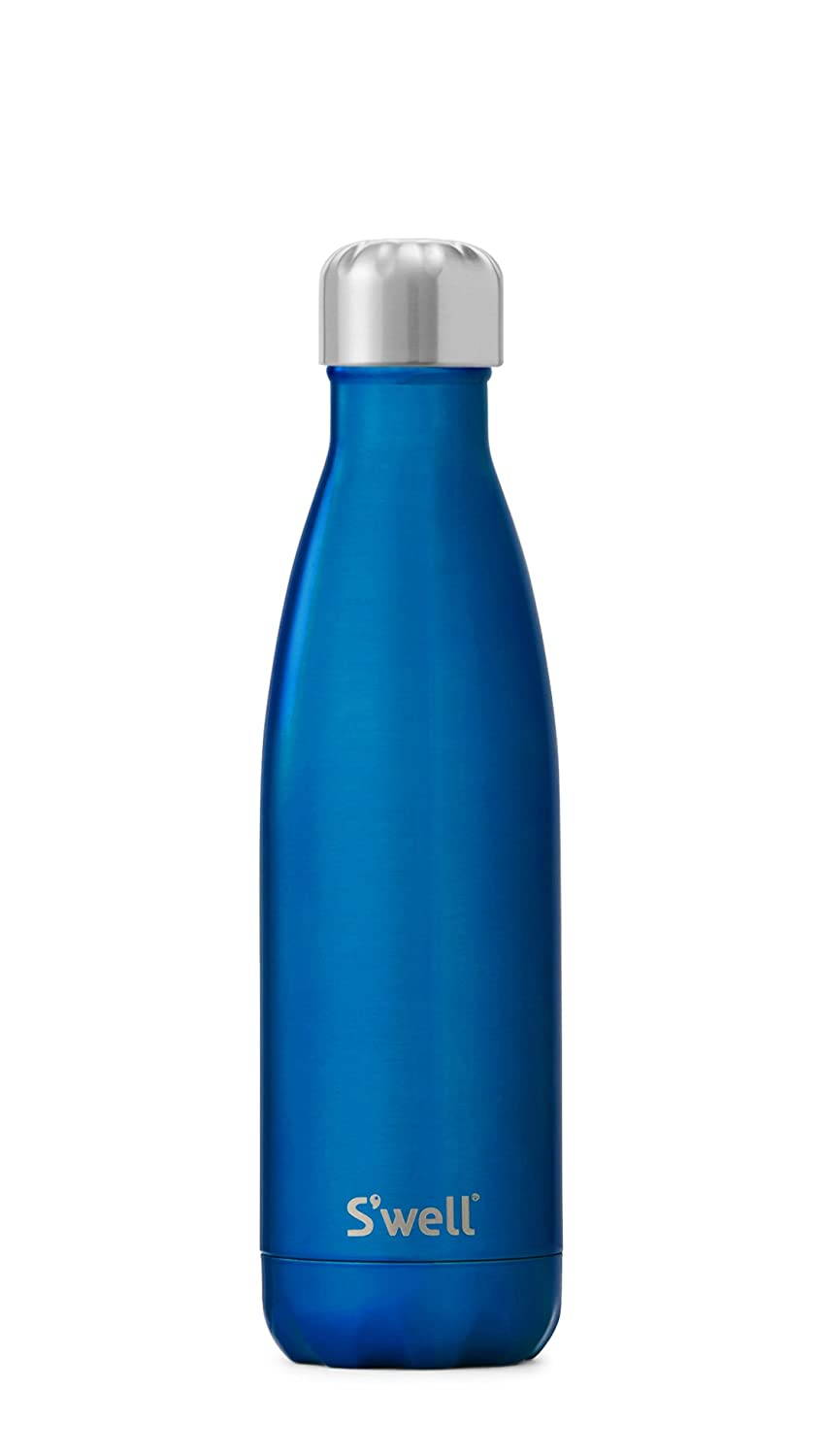 Ocean blueee 17 oz S'well Vacuum Insulated Stainless Steel Water Bottle S'well Vacuum Insulated Stainless Steel Water Bottle, 17 oz, Smokey Quartz 17 oz Smokey Quartz
