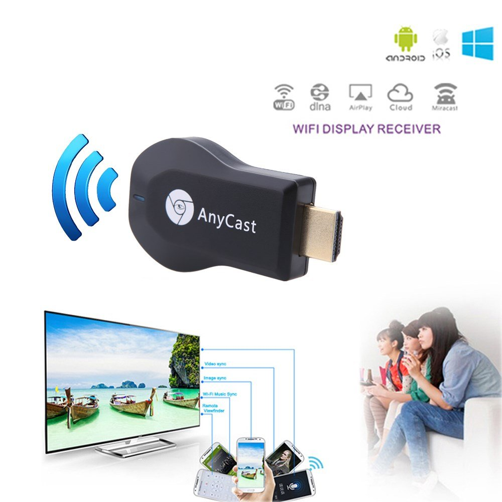 Captcha Hdmi Dongle Any Cast/Miracast Hdmi Dongle Wireless Media Streame Android other Smartphones