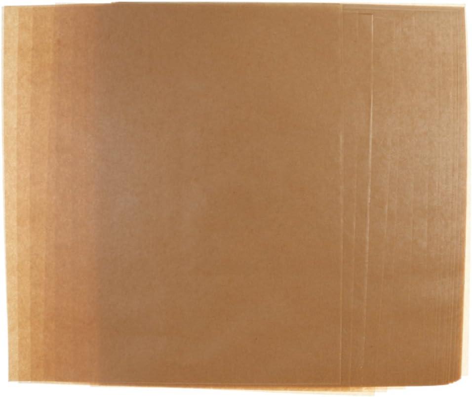 F Fityle 50 pcs Papier dEmballage Alimentaire Feuilles de Papier Sulfuris/é pour Cuisson de Bonbons au Fromage 22x25cm