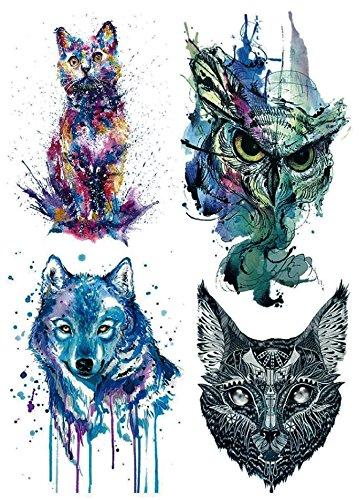 Tatuaggi Finti Per Il Corpo Tatuaggi Colorati Con Disegno Di
