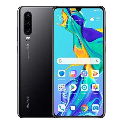 Image result for huawei p30 BLACK