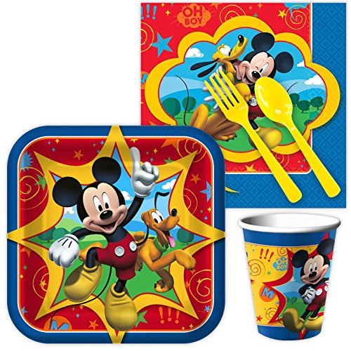 Costume SuperCenter Mickey Mouse Standard Kit (Serves 8)
