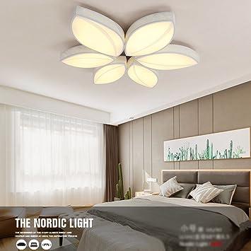 Deckenleuchte   Einfache Moderne LED Kreative Blume Blending Tone  Bügeleisen Deckenleuchte Arbeitszimmer Schlafzimmer Ambiente Wohnzimmer