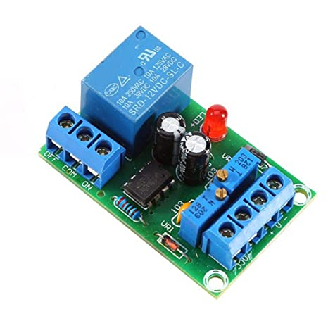 Morza Controlador de alimentación 12V Cargador Inteligente Módulo de alimentación de la Placa de la batería de Carga automático Interruptor de Parada