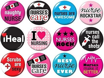set #2 Nurse Buttons Pins