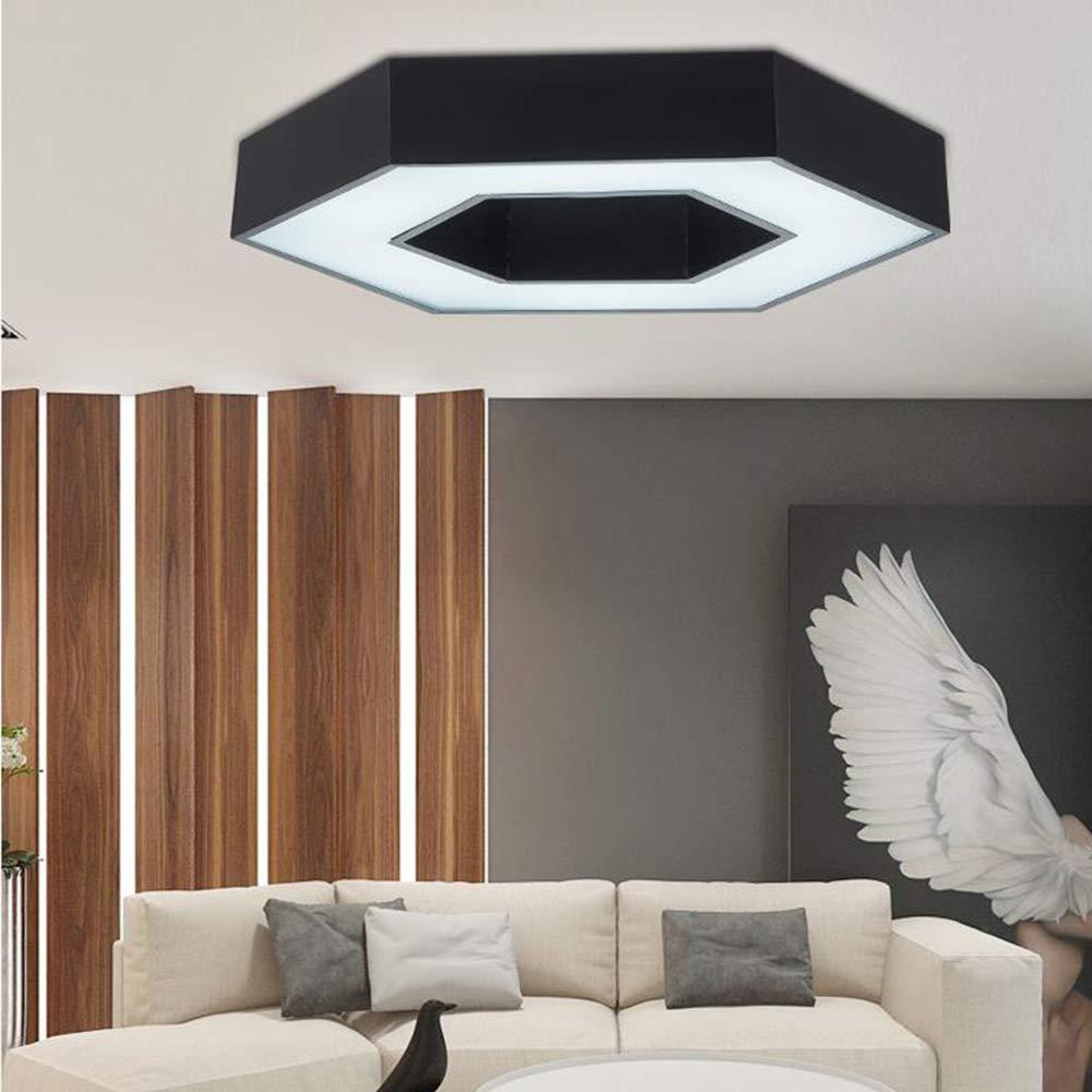 Amazon.com: CUICAN - Lámpara de techo LED de hierro acrílico ...