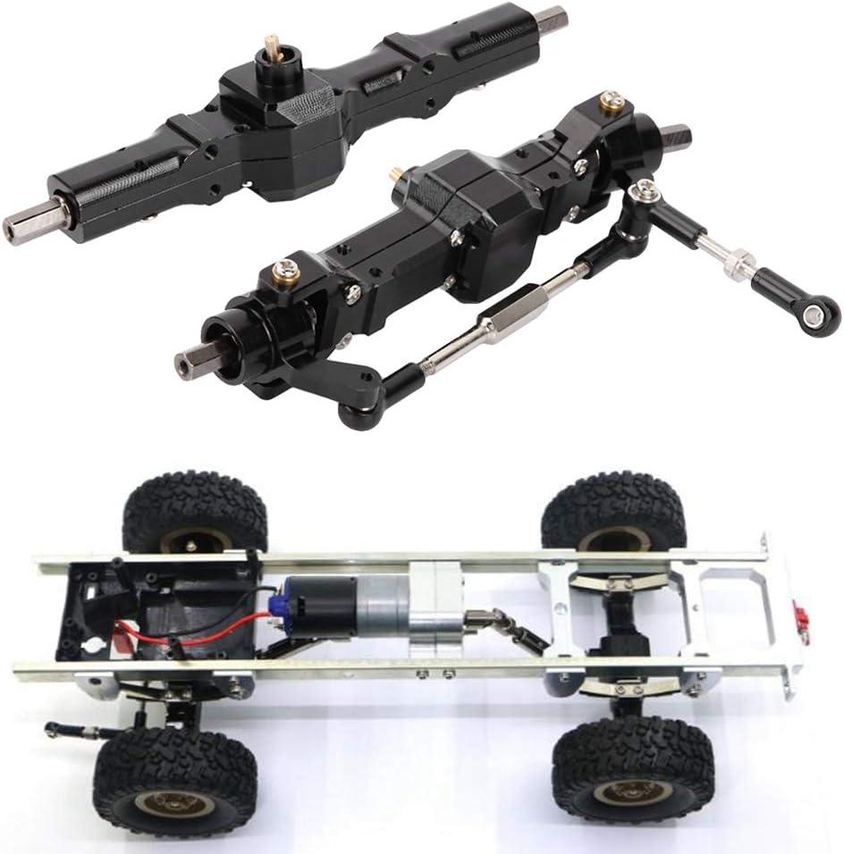 B16 B24 C24 B36 1//16 Mini Metal Front /& Rear Axle Drive Shaft Toy Accessory Fit for WPL RC Military Truck Car B14 C14