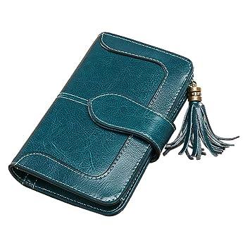 8cc7fcdf0d19e WUYANES Portemonnaie Geldbörse für Junge Damen
