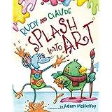 Rudy and Claude Splash Into Art