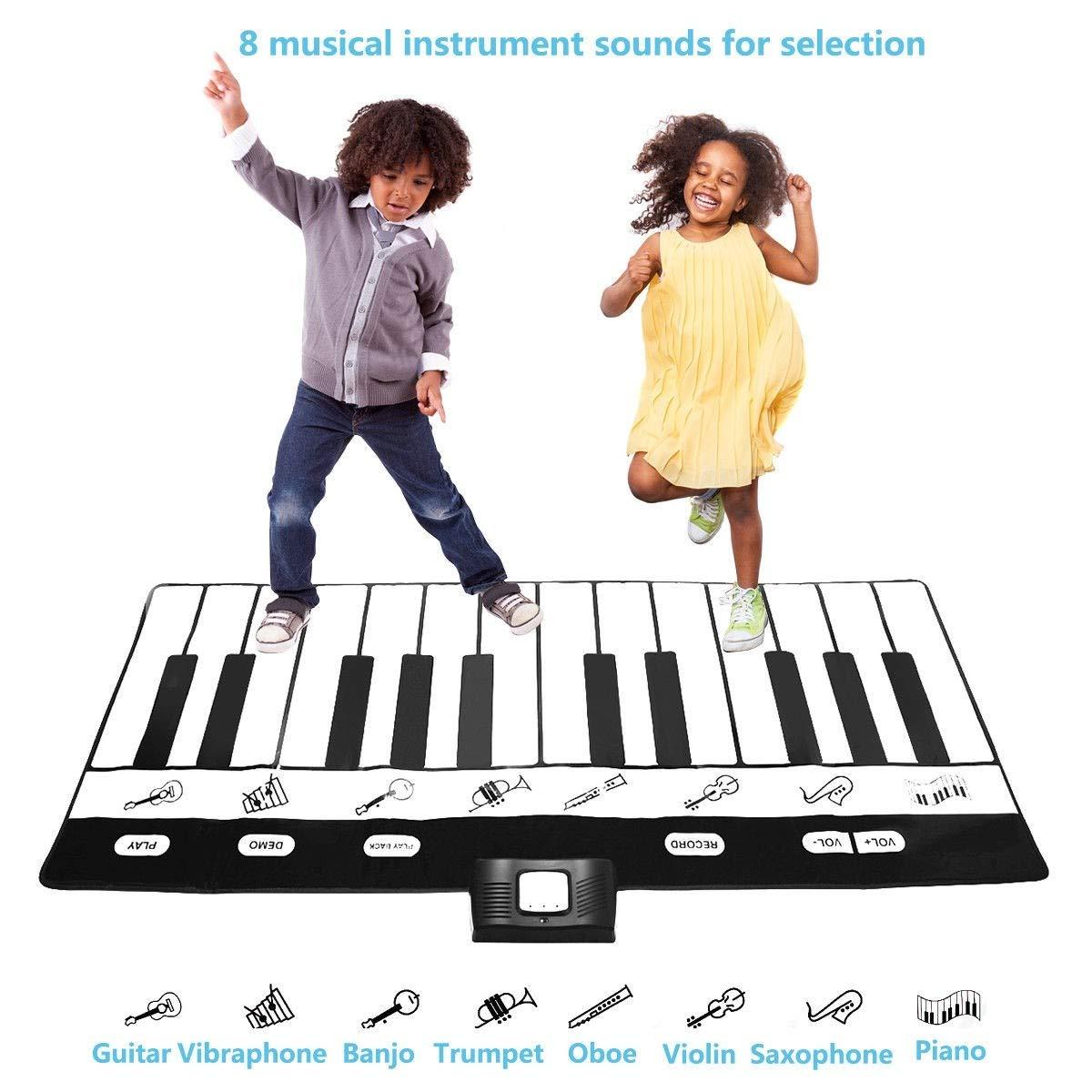 Dayanaprincess New Kids 24 Key Gigantic Piano Keyboard with 8 Instrument Settings Learning Children Play Set Fun Entertaining Book Melody by Dayanaprincess (Image #5)