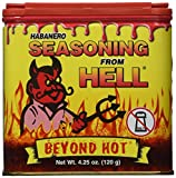 Ass Kickin' Seasoning From Hell - Flavor: Habanero - Net Wt: 4.25oz.