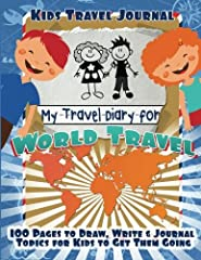 Kids Travel Journal: My Travel Diary for World Travel  Is your family planning a vacation adventure? Then give your kids a fun travel journal to engage their minds and collect their vacation memories for a lifetime.  Have you ever found your ...