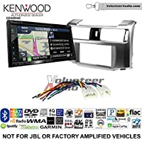 Volunteer Audio Kenwood Excelon DNX694S Double Din Radio Install Kit with GPS Navigation System Android Auto Apple CarPlay Fits 2010-2013 Non Amplified Toyota 4Runner