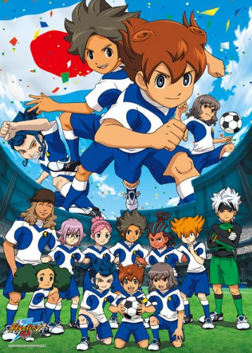 Inazuma Eleven GO 300 Large Piece Inazuma Eleven GO Galaxy 300-L358 (japan import) by ensky