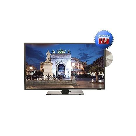 stanline televisor 24 HD inversa losa + reproductor de DVD: Amazon ...