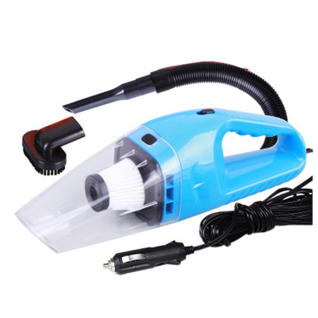 Iuhan® Fashion 12V 120W Suction Mini Vehicle Car Handheld Vacuum Dirt Cleaner Wet & Dry (Blue)