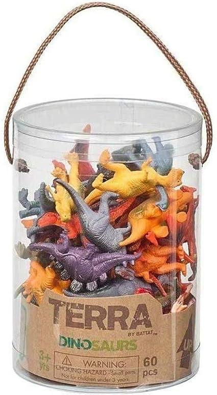 Terra Dinosaurs Mini Figure Set 60pcs